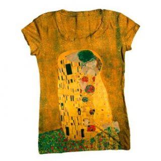 ArtsyClothingCo Gustav Klimt 001 Art Womens Top