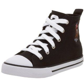 Little Kid Bal Harbour Hi flag Sneaker,Black,13 M US Little Kid Shoes