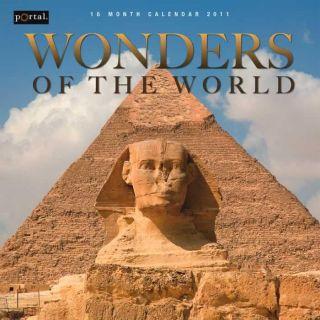 Wonders of the World 2011 Wall Calendar