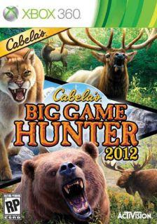 Xbox 360   Cabelas Big Game Hunter 2012