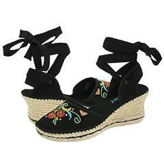 Roxy Fiesta Black Pumps/Heels