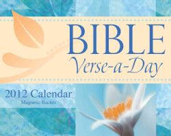 Bible Verse a day 2012 Calendar (Mixed media product)