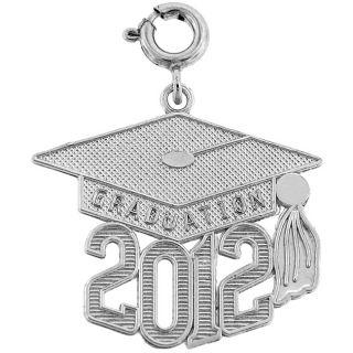 Sterling Silver 2012 Graduation Charm