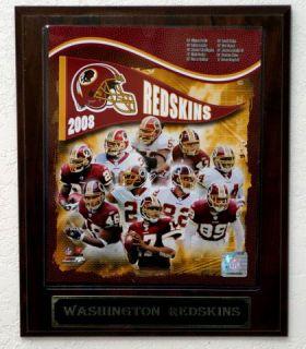 2008 Washington Redskins Picture Plaque