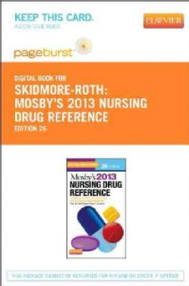 Mosbys Nursing Drug Reference 2013