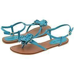 Madden Girl Adaline Turquoise Paris Sandals