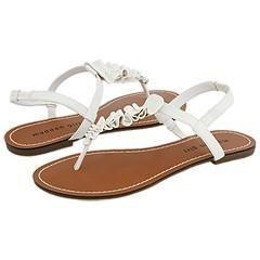 Madden Girl Motif White Paris Sandals