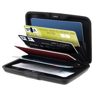 BasAcc Black Aluminum Universal Card Case