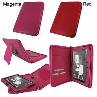 rooCASE Executive Leather Case Cover for Motorola DROID XYBOARD 10.1