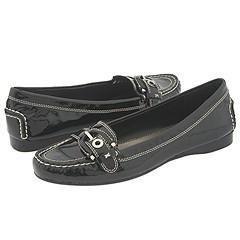 Franco Sarto Kline Black Patent Loafers   Size 6.5