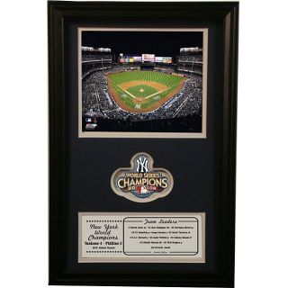 2009 New York Yankees World Series Champions Commemorative Photo Today
