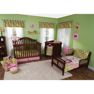 Trend Lab Dora The Explorer 7 piece Crib and Toddler Bedding Set