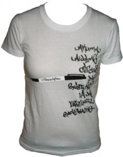 The Shape Shifters   Girls Shirt   Sharpie Logo on White