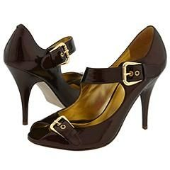 GUESS by Marciano Cabana Crystal Bronze Patent Heels