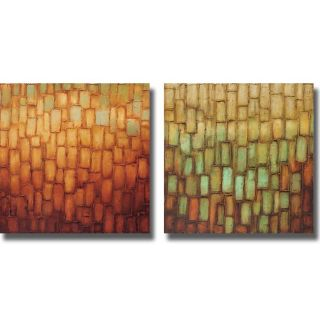Alexandra Perry Highlights I and II 2 piece Canvas Art Set Today $