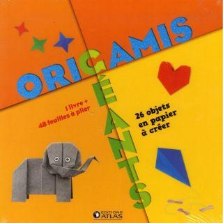 Origamis géants ; 28 objets en papier à créer ;  Achat / Vente