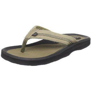 Rafters Mens Tsunami Leather Sandal,Khaki,8 M US Shoes