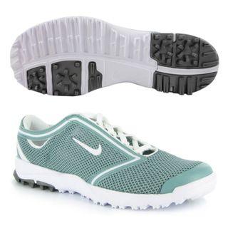 Nike Womens Air Summer Lite Cannon/ White Golf Shoes