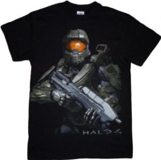 Halo 4 Master Chief Battle Ready Mens Black T Shirt