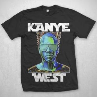 Kanye West   Robot Wars Mens T Shirt In Black Clothing