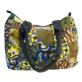Fabric Patchwork Large Original Hobo Bag (Kenya)
