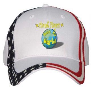 Clarinet Players Rock My World USA Flag Hat / Baseball Cap