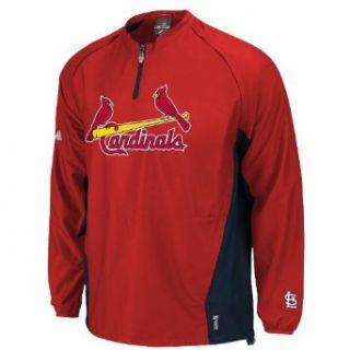 MLB St. Louis Cardinals Long Sleeve Lightweight 1/4 Zip