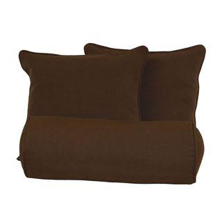 Blazing Needles Twill Pillow Set (Set of Three)