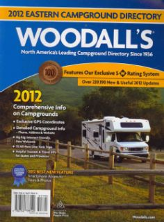 Eastern America Campground Directory 2012 (Paperback)