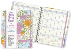 Spring Garden 2012 Mom`s Weekly Planner (Calendar)