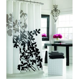 Manor Hill Selene Fabric Shower Curtain