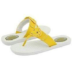 Dr. Scholls Lotus Neon Yellow Sandals