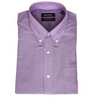 Nautica Mens Oxford Dress Shirt