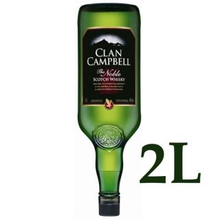 Clan Campbell (2 Litres)   Achat / Vente WHISKY BOURBON SCOTCH Clan