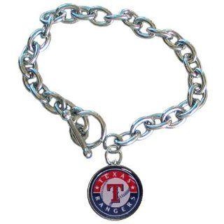 MLB Texas Rangers Charm Bracelet