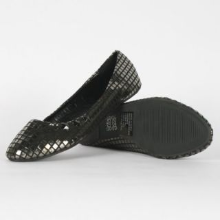 Iron Fist   Womens Heavy Metal Flat In Pewter Shoes