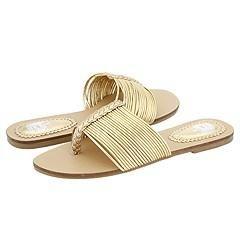 Line Kids 12 2014 (Youth) Gold Metallic Sandals