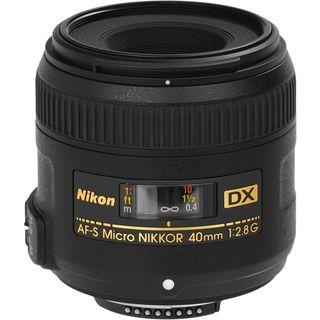 Nikon 40mm f/2.8G AF S DX Micro NIKKOR Lens