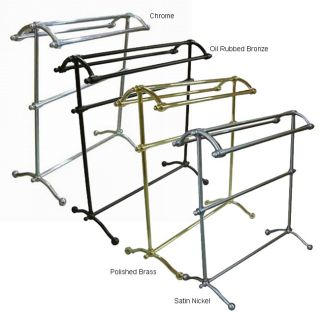 Free Standing 29.5 inch Towel Rack (Oil Rubbed Bronze)