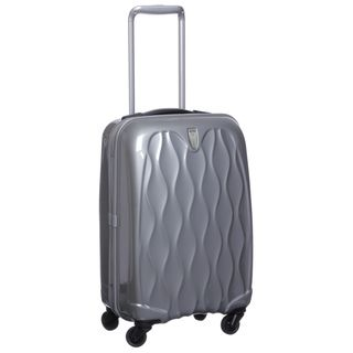 Antler USA Silver 22 inch Hardside Carry On Spinner Upright
