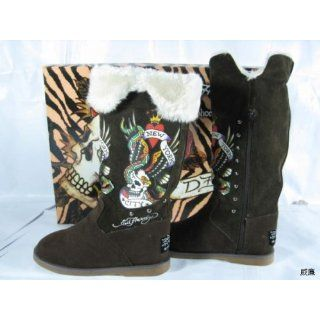 Ed Hardy By Christian Audigier Boot Woman Shoes: Everything Else