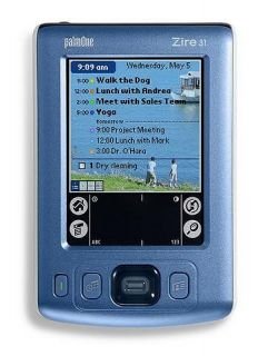 palmOne Zire 31 16MB Color Screen Handheld PDA   Open Box (Refurbished