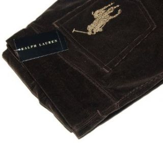 Polo Ralph Lauren Black Label Womens Big Pony Corduroy