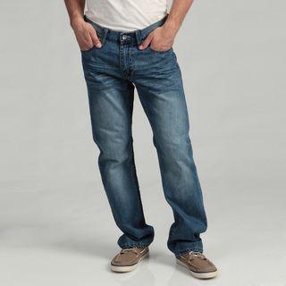Request Jeans Mens Slim Straight Denim Jeans