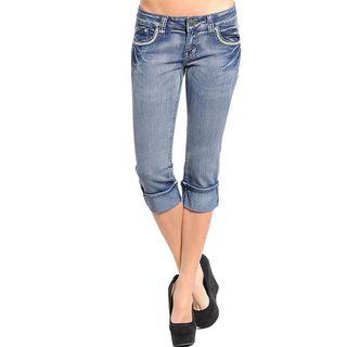 Stanzino Womens Capri Jeans