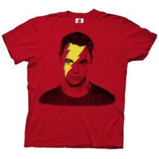 Lightning Bolt Sheldon Big Bang Theory T shirt, Red
