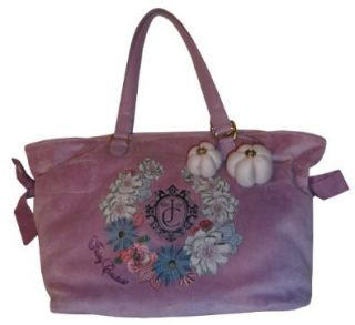 Womens Juicy Couture Purse Handbag Bella Tote Dusty Orchid Shoes