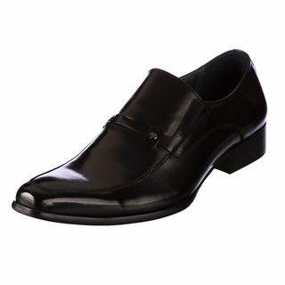 Steve Madden Mens Barque Black Loafers