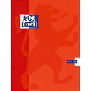 Cahier 48 Pages 17x22cm ROUGE   Achat / Vente CAHIER OXFORD Cahier 48