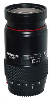 Tokina 35 200mm F/4.0 5.6 AF Lens for Minolta SLR